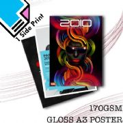 170GSM A3 Gloss Poster